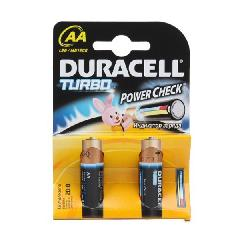 Элемент питания LR6 Duracell Turbo (2 на блистере,80,240)