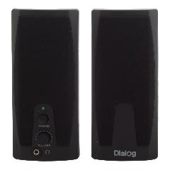 Акус. система Dialog 2.0 AC-21UP 2W RMS черные