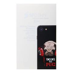 Наклейка iPhone 6/6S на корпус SFC SKIN Doug the pug