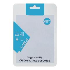 Пакет Zip-lock Original accessories cable 10,5x15 см голубой