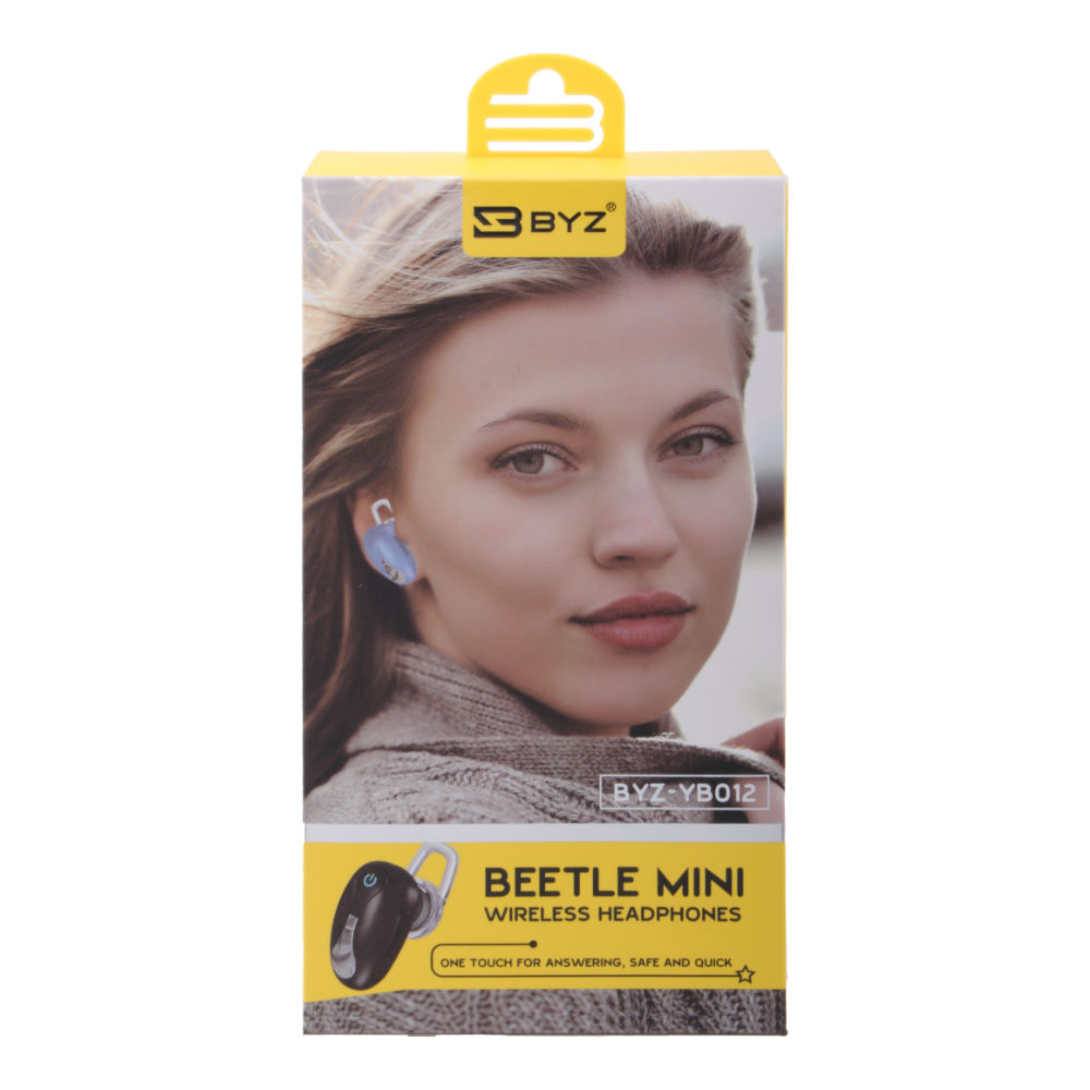 Bluetooth hands free BYZ-YB012 белый