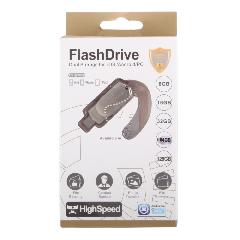 К.П. USB 64 Гб для iOs/Android/Mac, PC FlashDrive LXM L07 золото