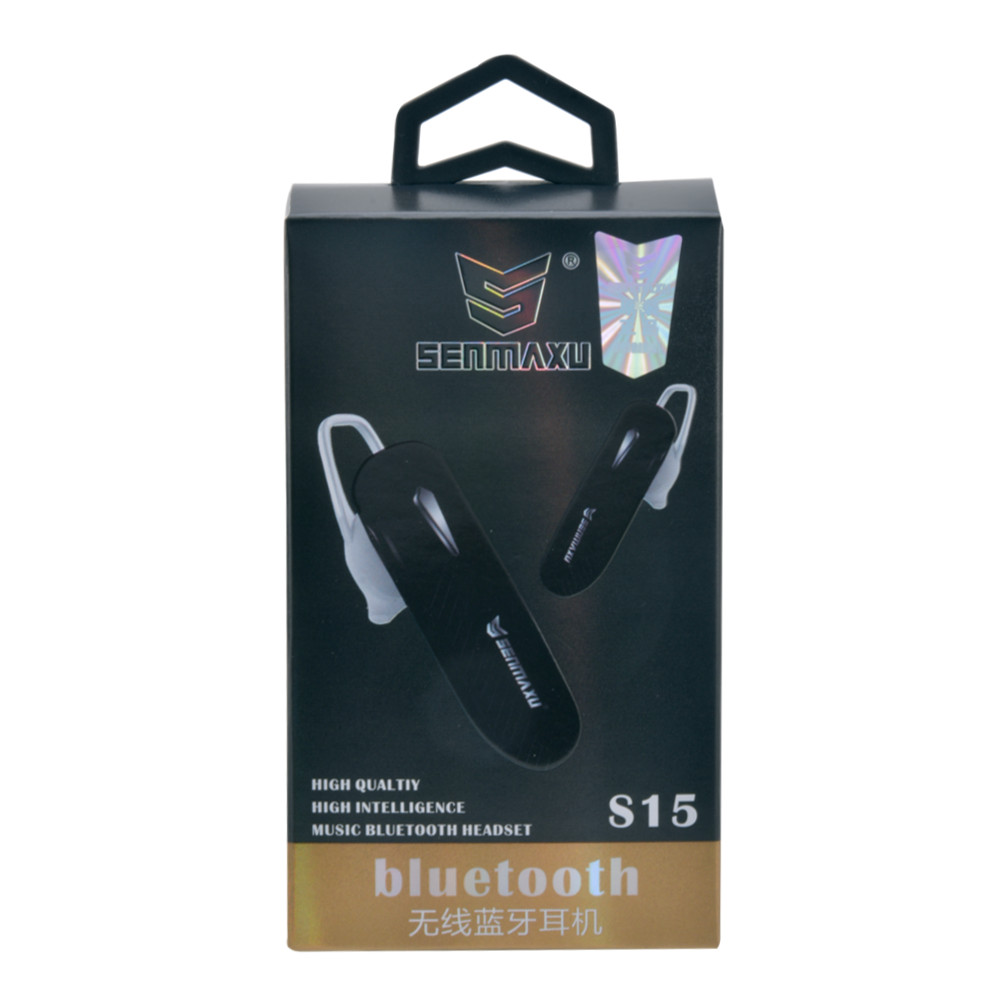 Bluetooth hands free S15 черный
