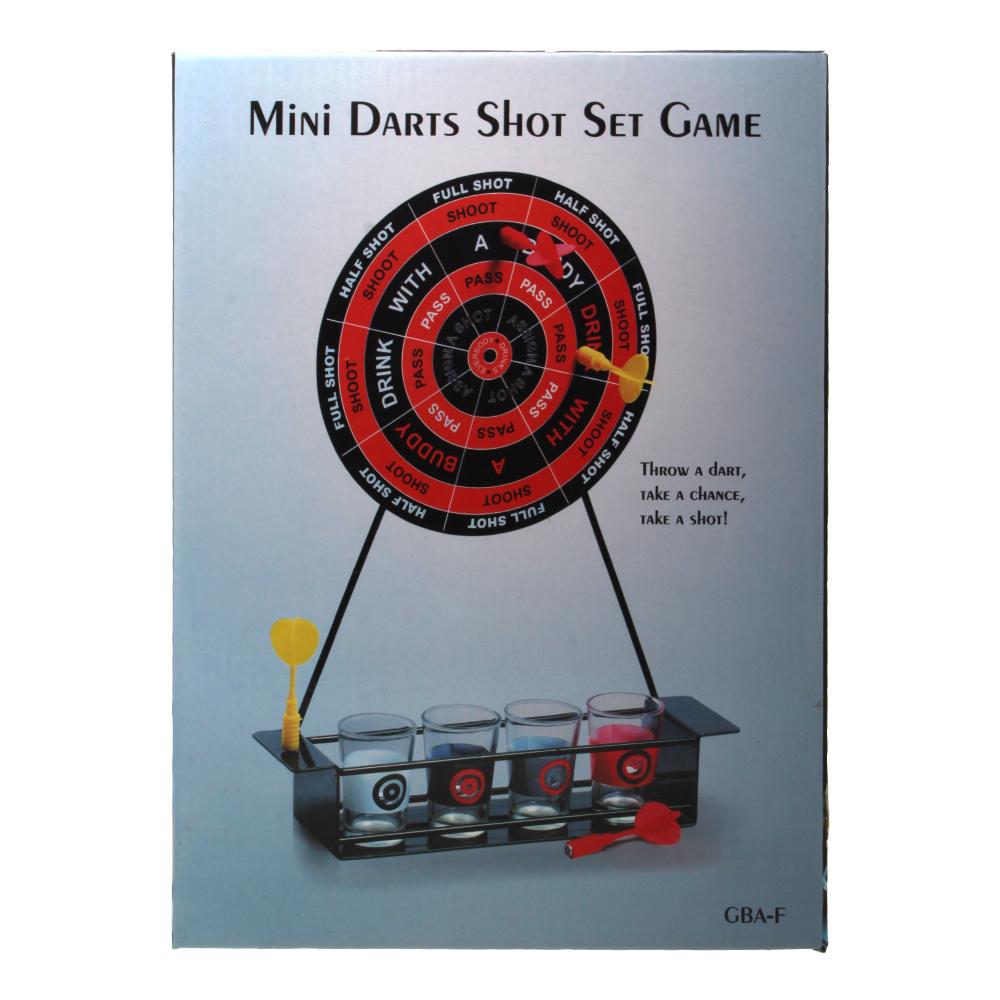 Игра Mini Darts Shot Set Game GBF-F