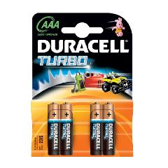 Элемент питания LR3 Duracell Turbo (4 на блистере,40)