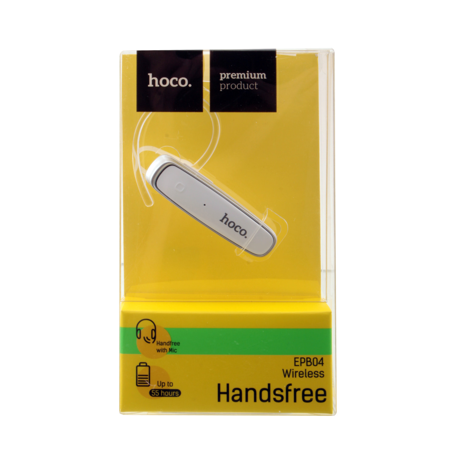 Bluetooth hands free Hoco EPB04 белый