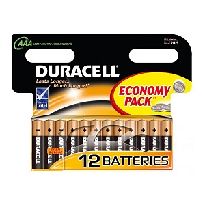 Элемент питания LR3 Duracell Turbo (12 на блистере,144)