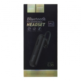 Bluetooth hands free Hoco E36, черный