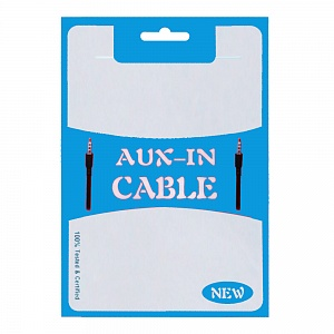 Пакет Zip-lock AUX in cable 10,5x15 см синий