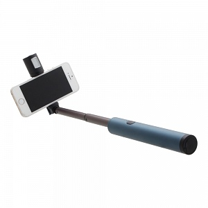 Селфи штатив Monopod Remax RL-EP01 Bluetooth + фонарик 61 см синий