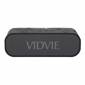 Стереоколонка Bluetooth Vidvie SP902A AUX + Power bank 1500mAh, черная