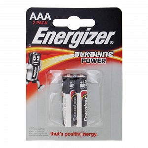 Элемент питания LR6 Energizer Alkaline Power (2 на блистере)
