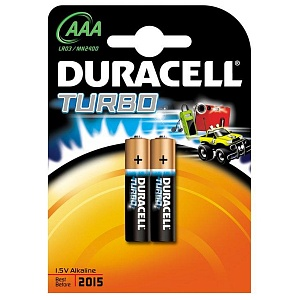 Элемент питания LR3 Duracell Turbo (2 на блистере,40)