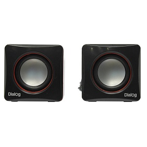 Акус. система Dialog 2.0 AC-04UP 6W RMS черно-крас